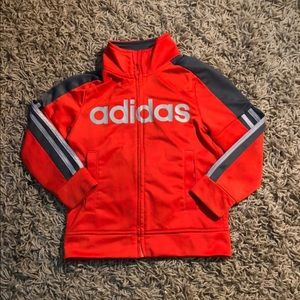 Boys adidas zip up